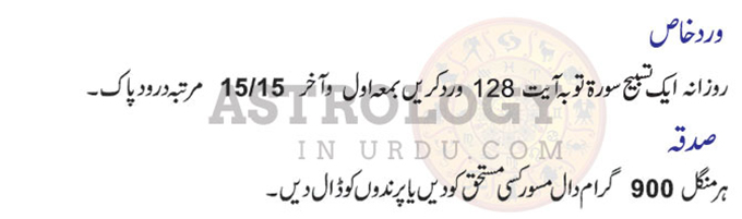 Taurus Horoscope in Urdu Wird E Khas 2019