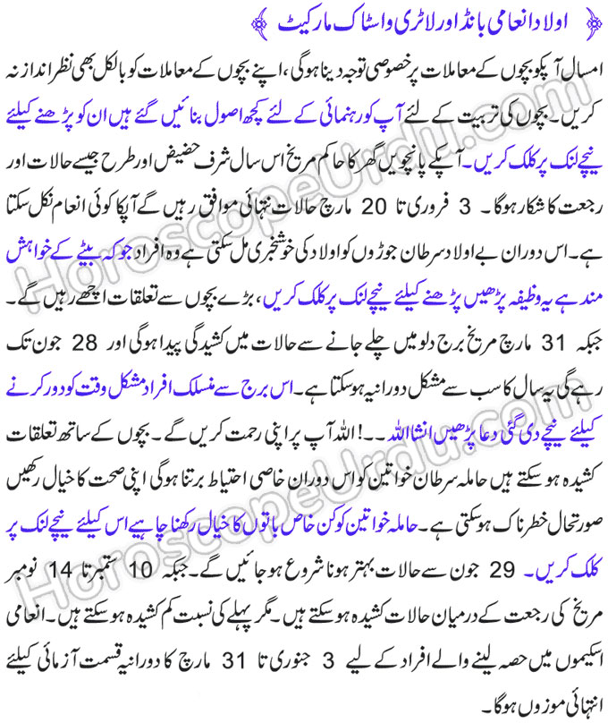 Cancer Horoscope in Urdu 2020